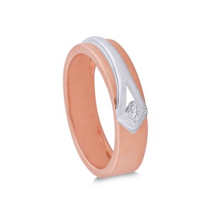 Theora Rose Gold Diamond Ring