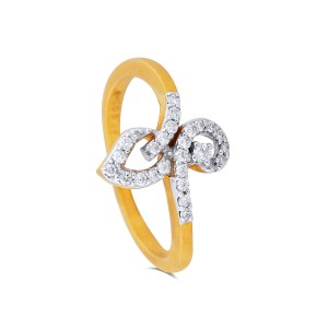 Glory Yellow Gold Diamond Ring
