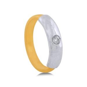 Tabetha Yellow Gold Diamond Ring
