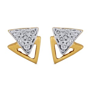 Amalia Diamond & Yellow Gold Earrings