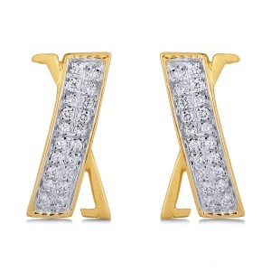 Salma Diamond & Yellow Gold Earrings