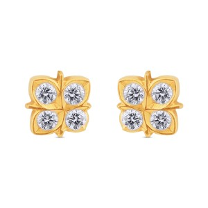 Malina Diamond Stud Earrings