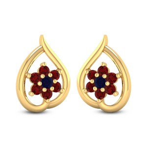Franca Royal Stud Earrings