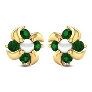 Calatheas Stud Earrings