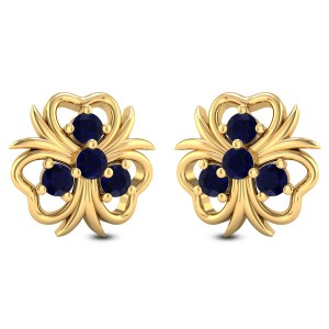 Nigella Floral Stud Earrings
