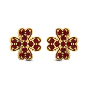 Constantia Ruby Stud Earrings
