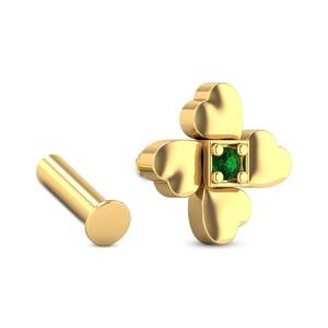 Ikshura Emerald Nosepin