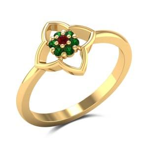 Evander Floral Ring