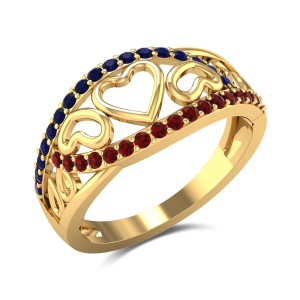 Proteus Heart Ring