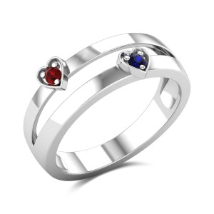 Semele Ruby and Sapphire Ring