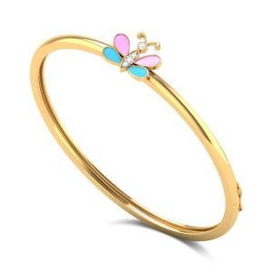 Aglais Kids Diamond Bangle
