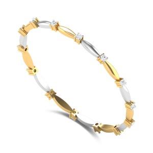 Danica Single Line Diamond Bangle