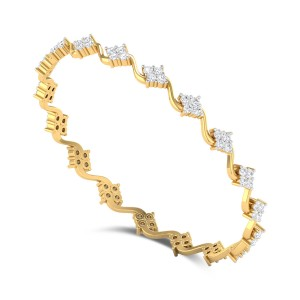 Limonium Diamond Bangle