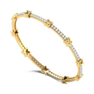 Inora star Diamond Bangle
