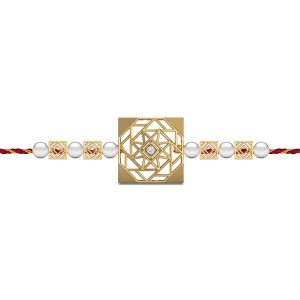 Us Forever Diamond Rakhi Set