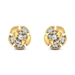 Aamodh Diamond Stud Earrings