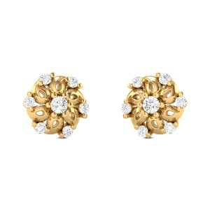 Leila Diamond Earrings