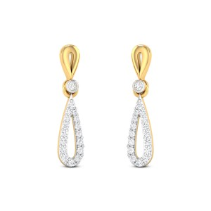 Glittering Glory Diamond Earrings