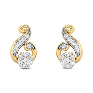 Laura Diamond Earrings