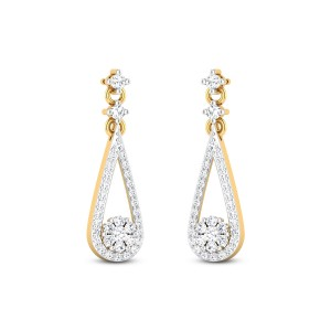 Dolce Collection Diamond Earrings