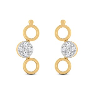 Minor Circles Diamond Earrings