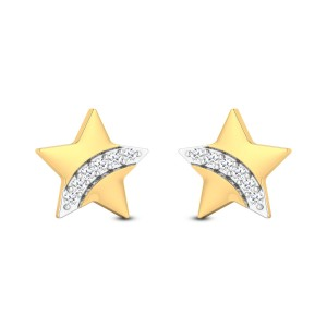 Baby Stars Diamond Earrings