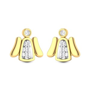 China Doll Diamond Earrings