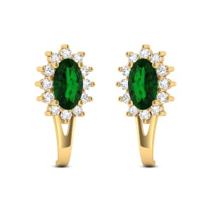 Gentle Joy Diamond Earrings