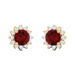 Mahala Rudy Studded Diamond Earrings