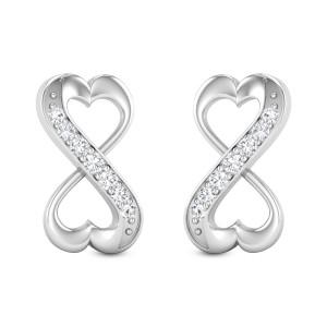 Aztec Arrows Diamond Earrings