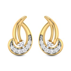 Mallow Diamond Earrings
