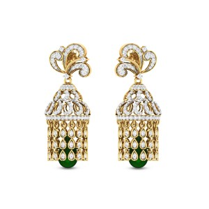 Pleiades Diamond Earrings