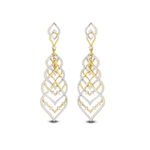 Fain Diamond Earrings