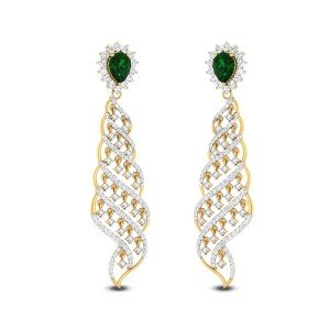 Mermaid Diamond Earrings