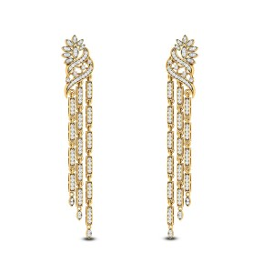 Basil Diamond Earrings