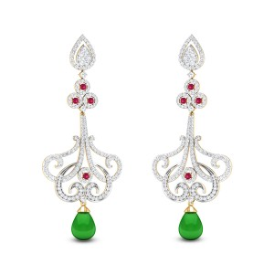Rangoli Diamond Earrings