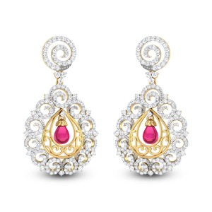 Blanchefleur Diamond Earrings