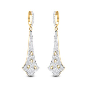 Bouvardia Diamond Earrings