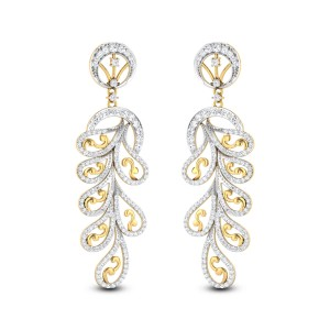 Amaranthus Diamond Earrings