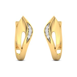 Tvarita Diamond Hoop Earrings