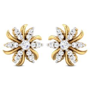 Advaya Diamond Stud Earrings