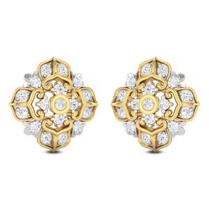 Yanet Diamond Stud Earrings