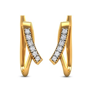 Harali Diamond Hoop Earrings