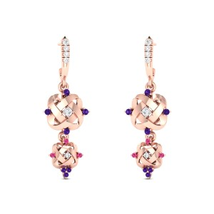 Kama Diamond Dangler Earrings