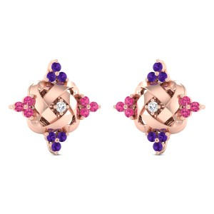 Anwil Diamond Stud Earrings