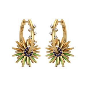Asha Diamond Earrings