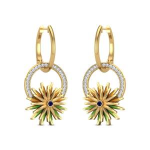 Samaya Diamond Drop Earrings