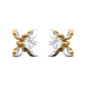 Shanay Floral Diamond Earrings