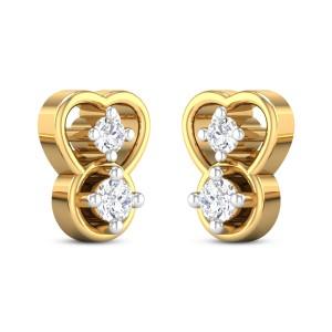 Peppa Kids Diamond Earrings