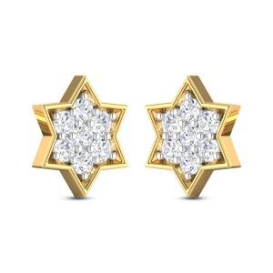 Batul Kids Diamond Earrings